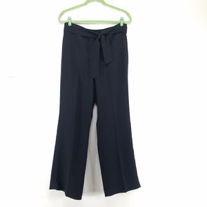 Talbots Belted Wide Leg Pants
